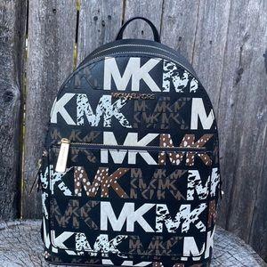 Michael Kors Adina Medium Backpack Black Multi
